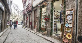 As melhores zonas para fazer compras de Natal em Guimarães